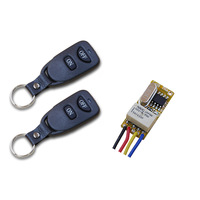 Mini Smart Wireless Remote Control Light Switch Micro Radio Controlled Switch Remote Relay Switch Receiver Transmitter