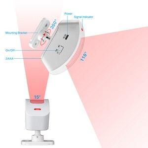 Image 2 - KERUI détecteur de mouvement PIR sans fil, pour GSM/PSTN, 433MHz, 3 pièces/lot, système dalarme de sécurité domestique, fenêtre
