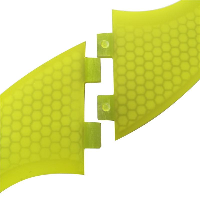 Wake Board FCS Quilhas szörfdeszka G5 Fins szörfözés Fins FCS - Vízi sportok - Fénykép 5