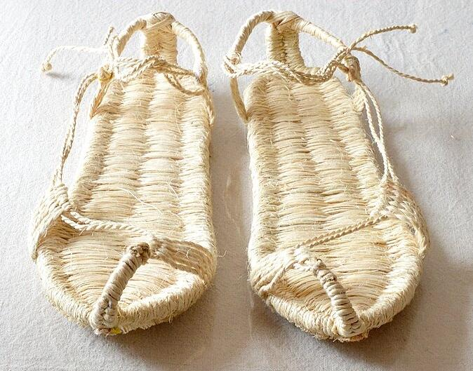2018 SunNY Everest 38-48 Wholesale hand-woven bamboo hemp sandals unsex sandals weaving straw sandals rafting sandals free size woven design straw flat sandals