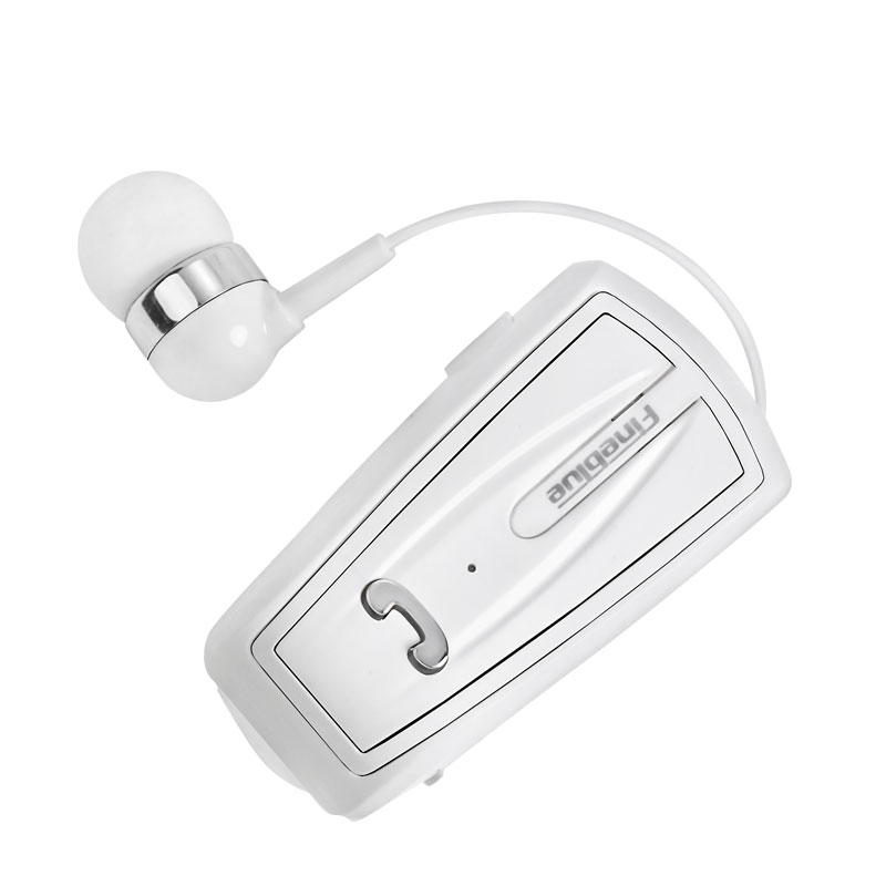 Fineblue Earphone In-Ear Retractable earbuds wire is designed with high quality and be retract more than 5000 times