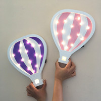 Hot Air Balloon LED Wall Wood Modeling Lamp Decoration Lamp Party Wedding Decorat Light Battery Powered Night Light IY304123 2