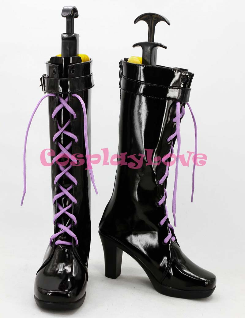 Newest Custom Made Japanese Anime THE IDOLM@STER CINDERELLA GIRLS Rin Shibuya Cosplay Boots Shoes For Christmas Halloween
