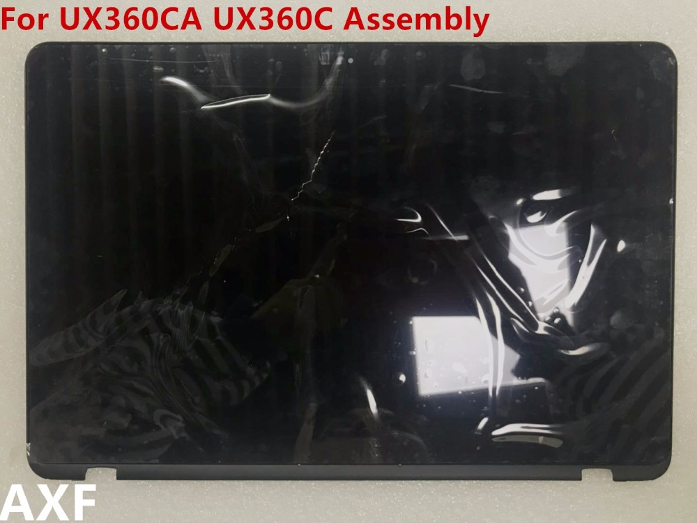 Original13.3inch LCD Display Screen for ZENBOOK UX360 UX360CA UX360C LCD screen + touch screen + frame assemblyB133HAN02.7 13 3 lcd screen display panel matrix replacement for asus zenbook ux360c ux360u ux360ca 1920x1080 edp 30 pin ips fhd non touch