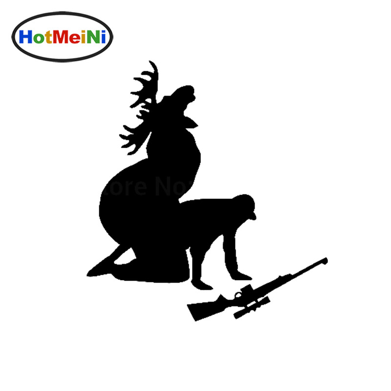 HotMeiNi 13 * 12 CM How Ya Like My Meat Now Funny JDM Moose Hunting Hunter Auto-stickers Auto Styling Decals Carrosserie Venster Bumper