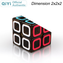 QiYi Dimension 2x2x2 Magic Cube 2x2 Cubo Magico Professional Speed Neo Puzzle Kostka Antistress Fidget Toys For Children