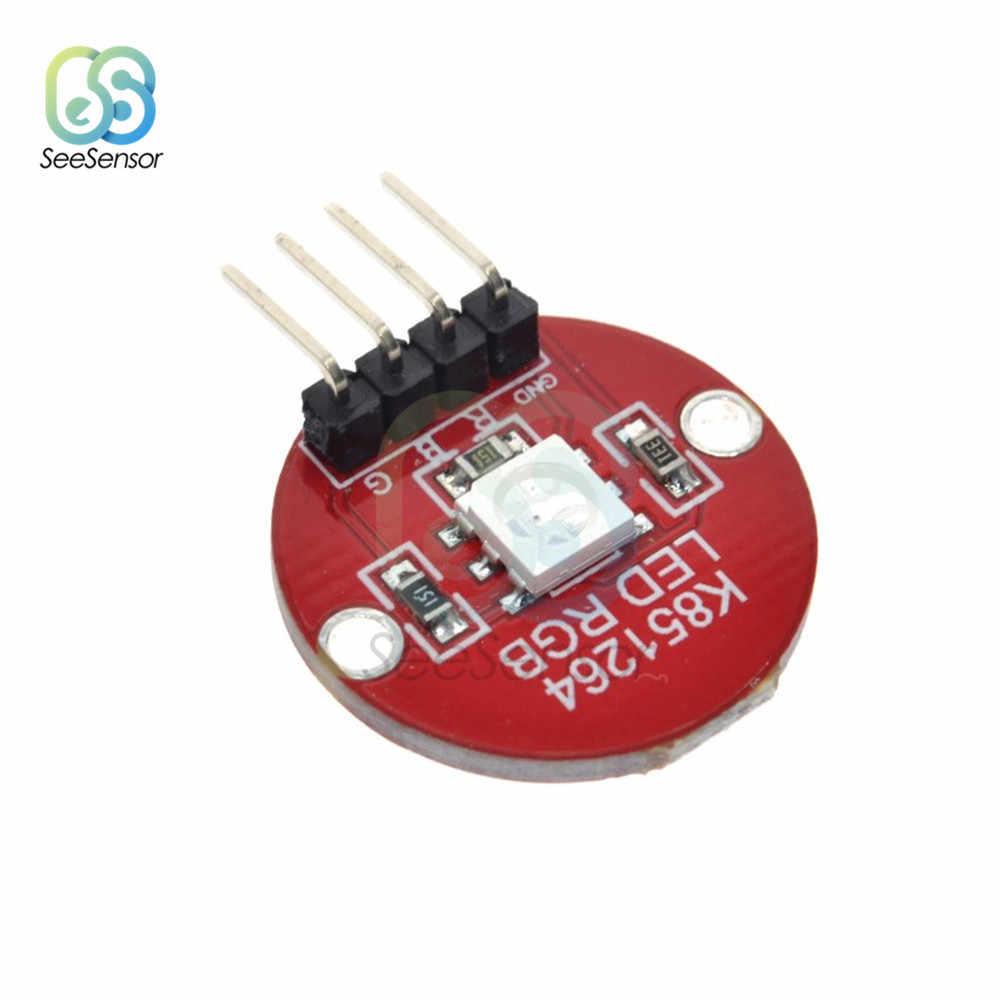 5050 pełny kolor doprowadziły moduł RGB migające światła moduł elektroniczny obwodu i same płytki PCB 5V trzy kolor rezystor ograniczający prąd