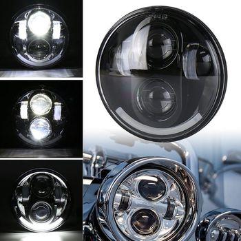 Daymaker 5.75inch 5 34 LED Headlight for Harley Davidson Dyna Street Bob Super Glide Wide Glide Low Rider Softail Deuce harley davidson headlight price
