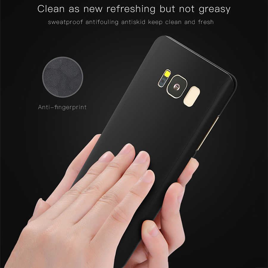 Fashion 360 Full Body Protection Case For Samsung S8 S8 Plus S7 S6 edge  Cover Ultra thin Hard PC Shockproof Armor Phone Cases