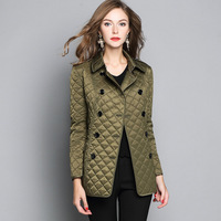Clothing Female 2018 New Spring Women S Jacket Cotton Jacket Slim Parkas Ladies Coats S XXL