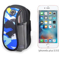 ROBESBON Cell Phone Sports Armband Running Arm Bag Waterproof Arm Pocket For Iphone Screen 4 9