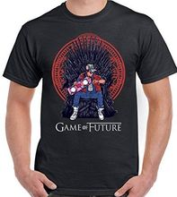 Game of Future Parody Back to the Thrones - Mens Funny T-Shirt  New T Shirts Tops Tee Unisex