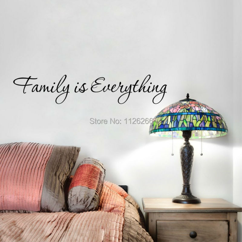 Family Is Everything Vinyl Wall Sticker Quotes