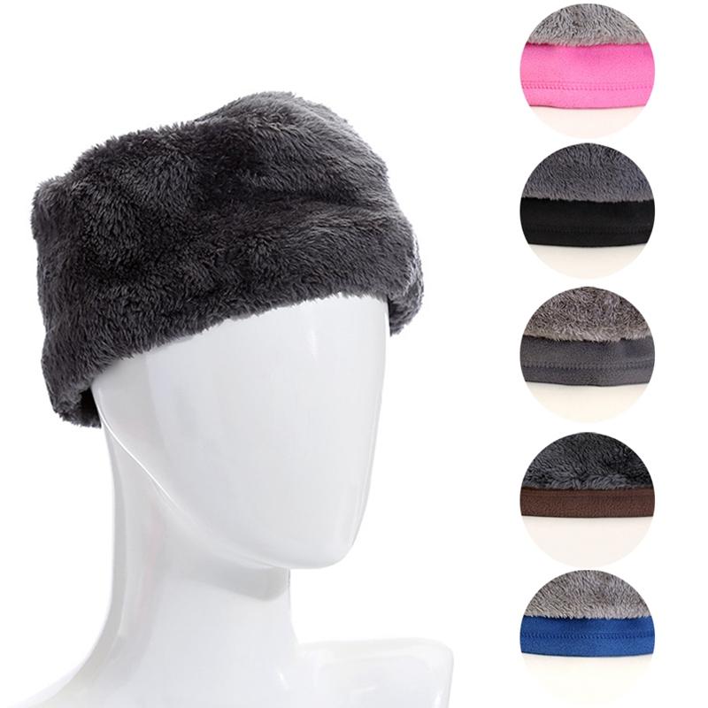 1PC 3in1 Unisex Beanie Hats Ski Snood Scarf Women Men Thermal Fleece Scarf Snood Neck Warmer Face Mask Winter Spring