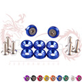Fender Washers 1set=8pcs washers and bolts for Honda