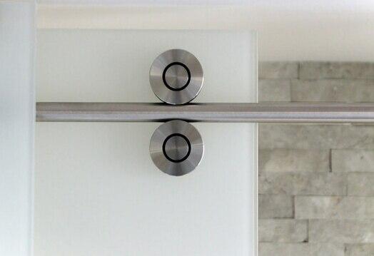 comprar sin marco puerta corredera de ducha hardware en lnea de la ducha granero kit roller acero inoxidable cepillado ducha mampara ducha