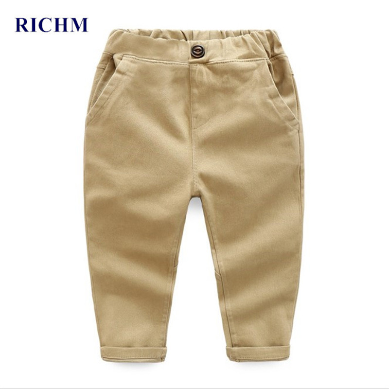 1eeeac1b3 Buy RICHM 2017 New Spring and Autumn Casual Baby Boys Pants Pure ...