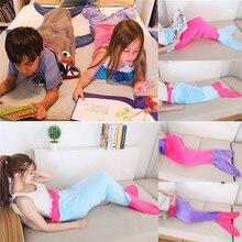 Фланелевый флисовый Русалка Одеяло плед для кровати Покрывало плюшевые покрывало вязаная детская кровать для взрослых хвост русалки Одеяла