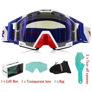 Off Road Goggles | Men Women Motorcycle Goggles Glasses ATV Off-Road Helmet Ski Casque Motorcycle Glasses Racing Moto Bike Sunglasses Goggles