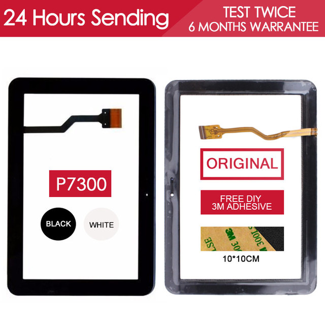 ORIGINAL Tested 8.9 inch Tablet PC Touchscreen For SAMSUNG GALAXY TAB GT P7300 Touch Screen Glass Panel Parts Free Adhesive
