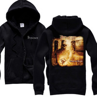 Pestilence Obsideo Album Cover Death Metal Technical Death Metal Black Hoodie