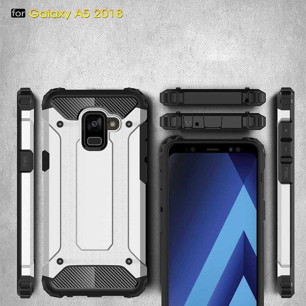 กลับเกราะสำหรับSamsung Galaxy A8 Plus 2018 A3 A5 A7 J5 2017 J7 Prime S8 S9 Plusสิ่งสกปรกโทรศัพท์กรณีGalie
