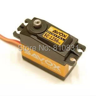 FREE SHIPPING Large digital servo savox sc-1256tg sa-1256 High Torque Titanium Gear Digital Steering Coreless Servo 20Kg 35kg high torque coreless motor servo rds3135 180 deg metal gear digital servo arduino servo for robotic diy rc car