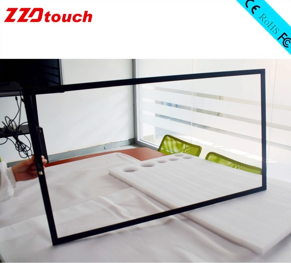 Image 4 - ZZDtouch 55 inch IR touch frame 10 points usb infrared touch screen panel multi touchscreen overlay for touch screen monitor pc-in Touch Screen Panels from Computer & Office