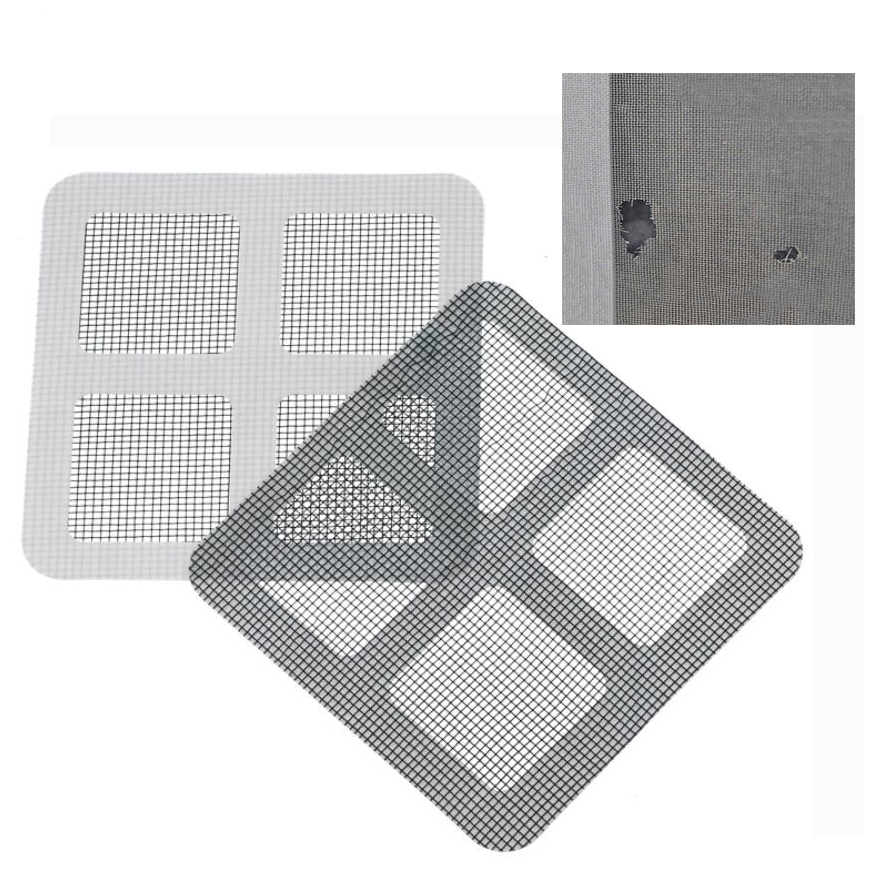 3pc/lot Anti-mosquito Patch Net Stick Easy Repairing Screen Door Repair Paste Home Curtain Hole Network Window Gluing Patches