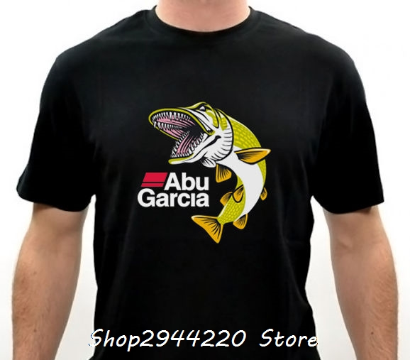 2017 hot sell brand clothing abu garcia for life fish logo How to sell shirts