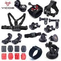 Mount Adapter Tripod Strap for Go Pro hero 6 5 4 3 Session SJ CAM SJ4000 Xiao yi 4k mijia Action Sport Camera Accessories kit