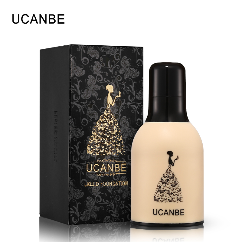 ucanbe brand milk bottle face base liquid foundation makeup full coverage concealer whitening. Black Bedroom Furniture Sets. Home Design Ideas