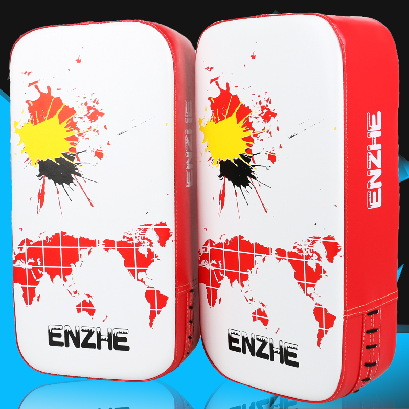 Hotsale colored Boxing pads Muay Thai kickboxing pad MMA punch Mitts foot Target TKD karate Focus Pad durable training target