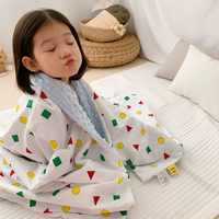 110X150cm 3D dot grain 2 layers cotton face minky dot back soft thermal toddler child blanket baby blanket kids blanket quilt