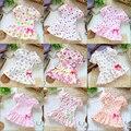 Бесплатная доставка в розницу 2013 летние дети одеваются детская одежда дети с коротким рукавом милые платья топ девочка цветок платье принцессы