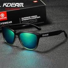5dfc1b6703a10 KDEAM Cores do Gradiente de Óculos De Sol Dos Homens Polarizados Esporte  óculos de Sol Óculos de lentes de sol Das Mulheres Do P..