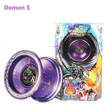 Démon S yoyo papillon professionnel métal Yoyo diabolo aluminium jeu de haute précision accessoires spéciaux sommeil mort auldey yoyo
