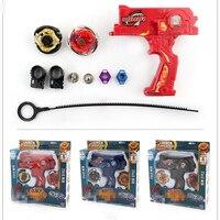 Heißer Verkauf Beyblade Metall Beyblades Spinning Tops Spielzeug-set Bey klinge Spielzeug mit Dual Werfer Hand Spinner Metall