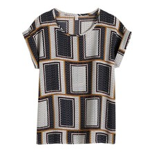 EFINNY Women Blouse Fashion Short-sleeved Shirt Female Casua