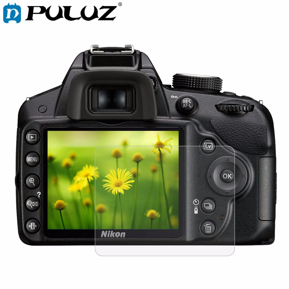 Распродажа! пленка Камера 2.5D 0,3 мм изогнутые края 9 H твердость поверхности закаленное Стекло ЖК-дисплей Экран протектор для Nikon D3200/ d3300