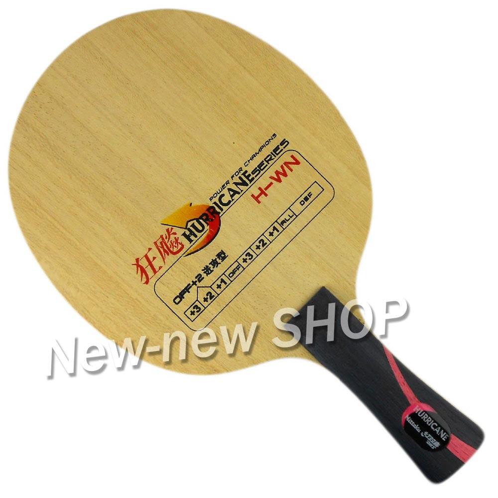 DHS Hurricane H-WN (H WN) Table Tennis Racket Blade romanson cl 5a10 lr wn