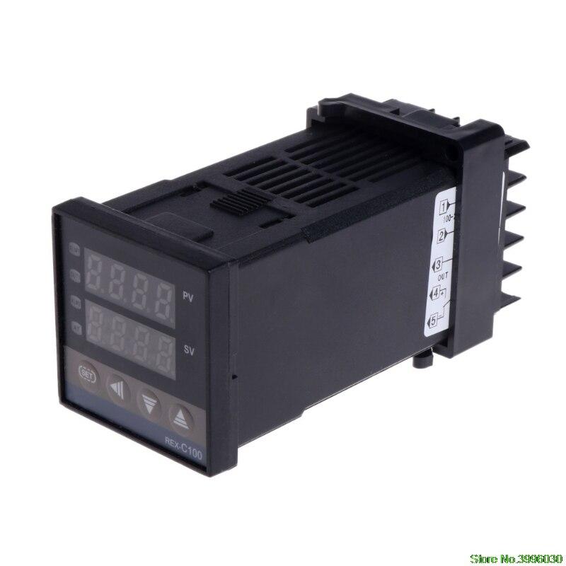 PID Digital Temperature Controller REX-C100 0 To 400degree K Type Input SSR Output