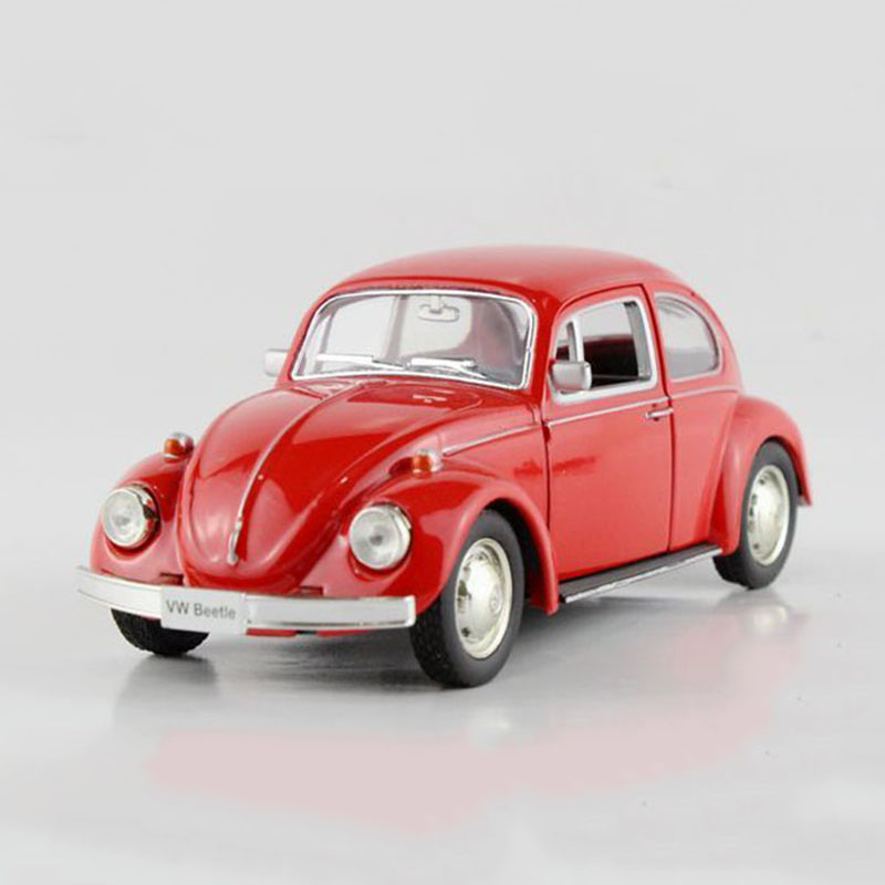RMZ Classical Beetle Car Toy Diecast Metal & ABS VW Cars Models ...
