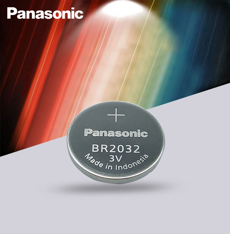 Original <font><b>Panasonic</b></font> 3V BR2032 Battery BR <font><b>2032</b></font> High temperature Button Coin Cell Batteries image