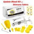 EZ Upgrade 2.2 bike Hydraulic Disc Brake Bleed Kit for Shimano all item M355 ~ M505, Tektro Full Series