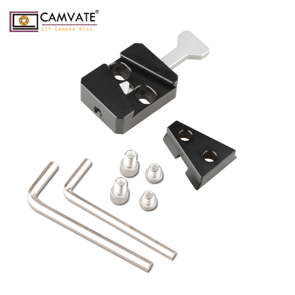 CAMVATE V Lock Base Station And Wedge Kit C1820 camera photography accessories