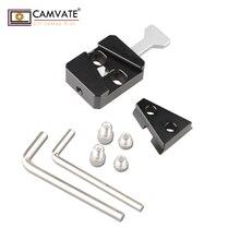 CAMVATE V-Lock базовая станция и универсальный Клин C1820 камера фотографии аксессуары