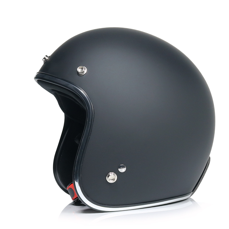 New casco capacetes motorcycle helmet retro vintage motocross helmet 3 4 open face scooter helmets