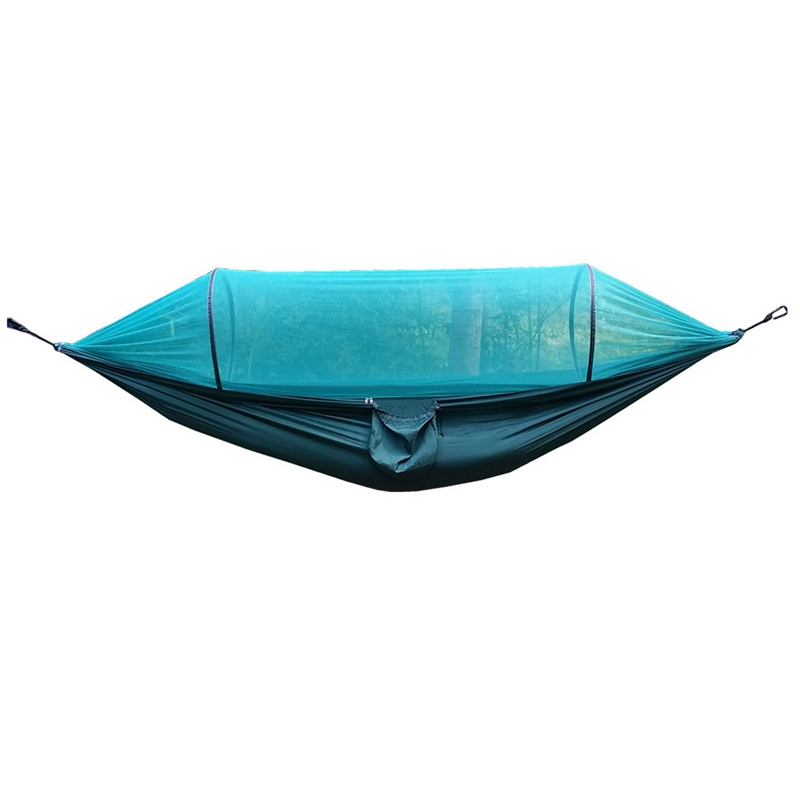 Outdoor Equipment Camping Hammock With Mosquito Nets Hammock Tent Tied With Insect Nets Tear-Resistant Nylon Speed Open Mosqui