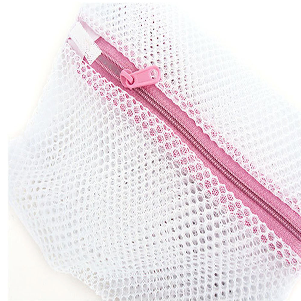 PHFU Wholesale 5PCS Wholesale Convenient Practical Bra Clothes Wash Laundry Lingerie Mesh Net Wash Bag 50X40CM